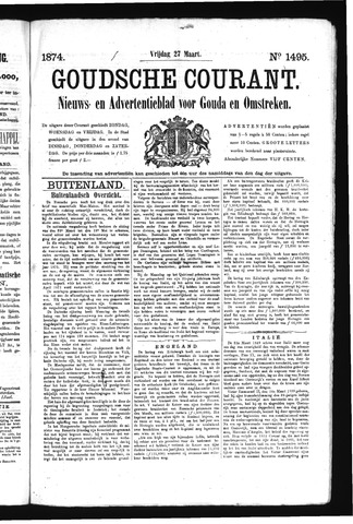 Goudsche Courant 1874-03-27