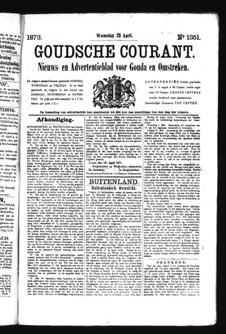 Goudsche Courant 1873-04-23