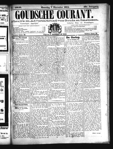 Goudsche Courant 1914-12-07