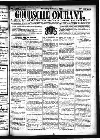 Goudsche Courant 1931-10-12