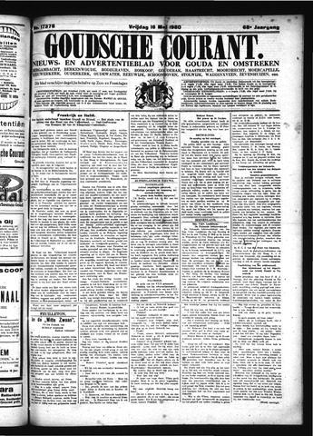 Goudsche Courant 1930-05-16