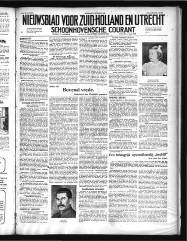 Schoonhovensche Courant 1948-08-04