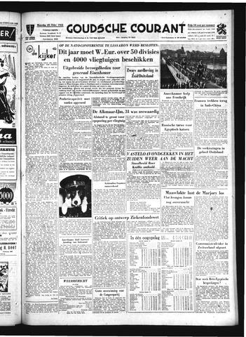 Goudsche Courant 1952-02-25