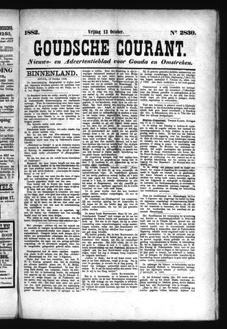 Goudsche Courant 1882-10-13