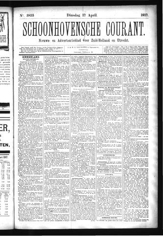 Schoonhovensche Courant 1917-04-17