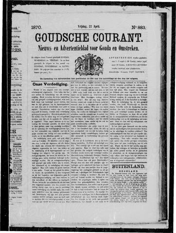 Goudsche Courant 1870-04-22