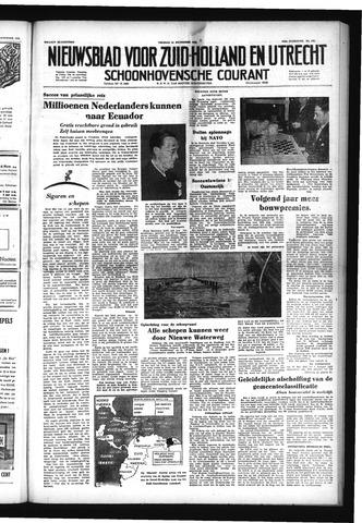 Schoonhovensche Courant 1952-11-14