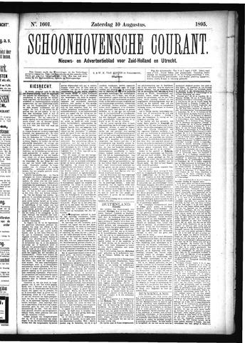 Schoonhovensche Courant 1895-08-10