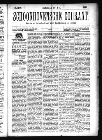 Schoonhovensche Courant 1892-05-28