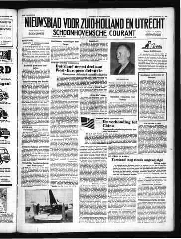 Schoonhovensche Courant 1950-12-20