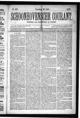 Schoonhovensche Courant 1879-07-20