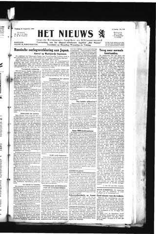 Schoonhovensche Courant 1945-08-10