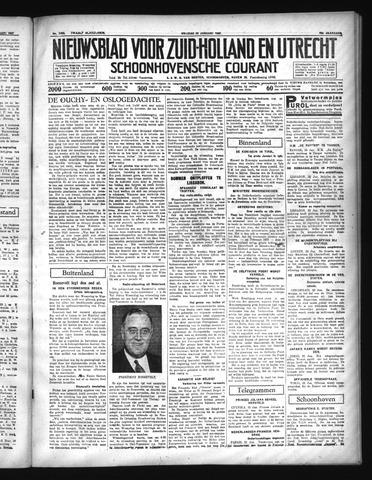 Schoonhovensche Courant 1937-01-22