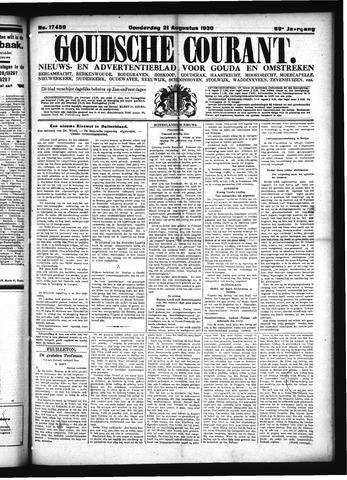 Goudsche Courant 1930-08-21