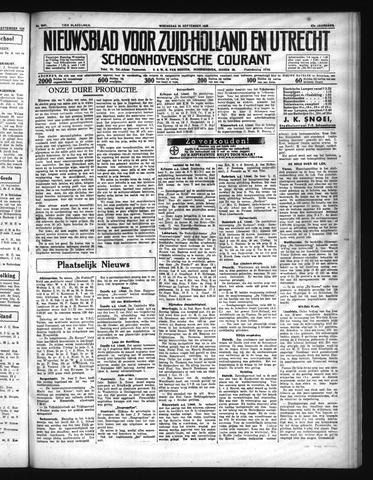 Schoonhovensche Courant 1935-09-25