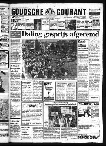 Goudsche Courant 1986-08-06