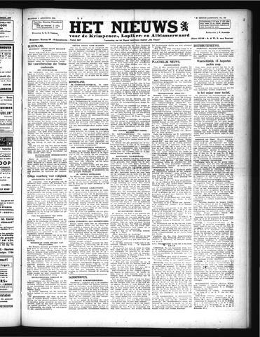 Schoonhovensche Courant 1946-08-05
