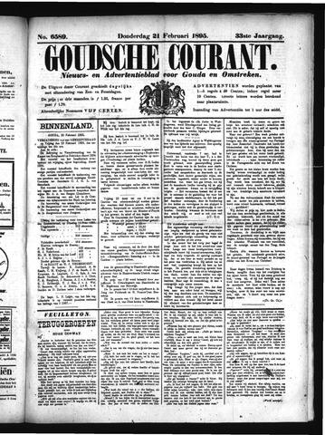 Goudsche Courant 1895-02-21