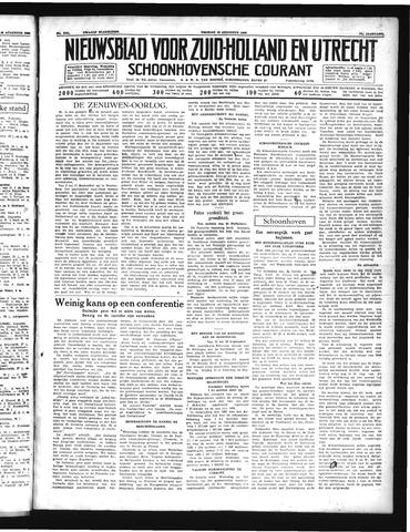 Schoonhovensche Courant 1939-08-18