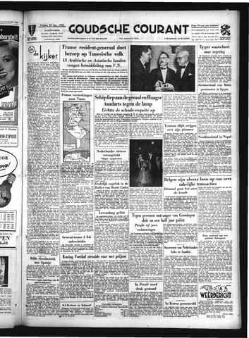 Goudsche Courant 1952-01-25