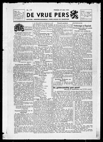 De Vrije Pers 1945-07-27