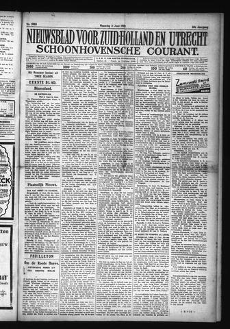 Schoonhovensche Courant 1928-06-11