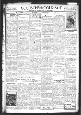 Goudsche Courant 1944-08-05