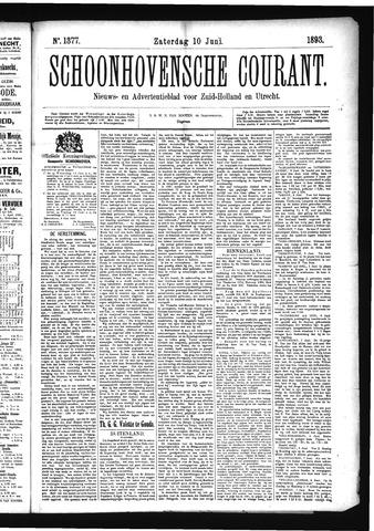 Schoonhovensche Courant 1893-06-10