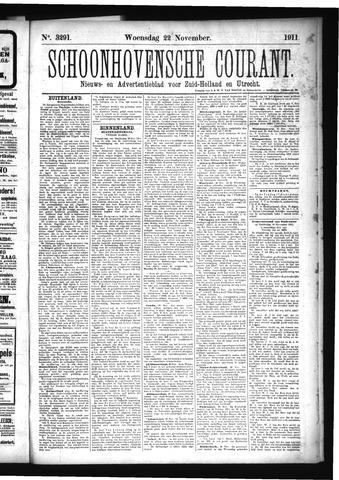 Schoonhovensche Courant 1911-11-22