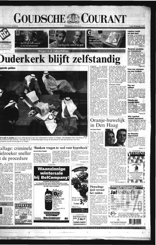 Goudsche Courant 2001-01-18