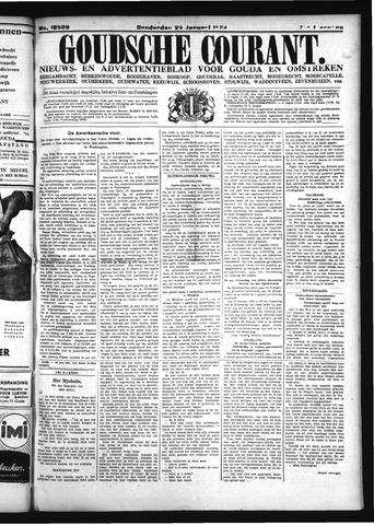 Goudsche Courant 1934-01-25
