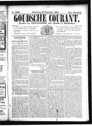 Goudsche Courant 1905-09-28