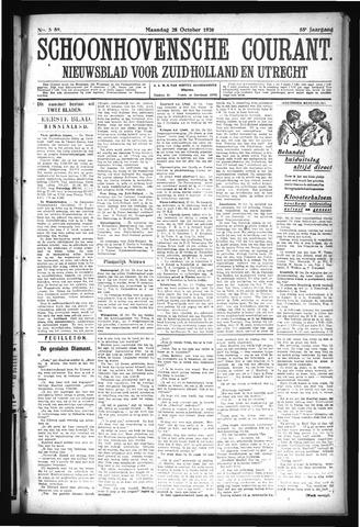 Schoonhovensche Courant 1926-10-25