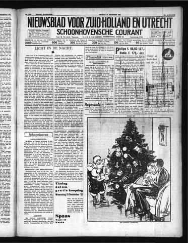 Schoonhovensche Courant 1937-12-24