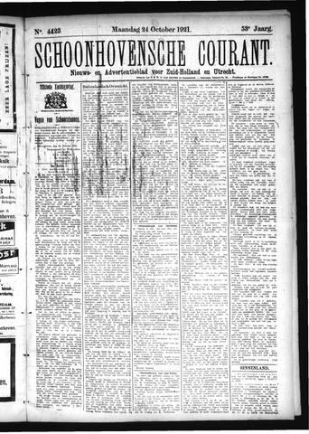 Schoonhovensche Courant 1921-10-24