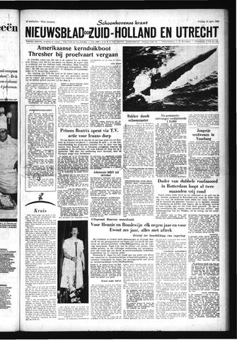Schoonhovensche Courant 1963-04-12