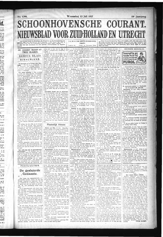 Schoonhovensche Courant 1927-07-13