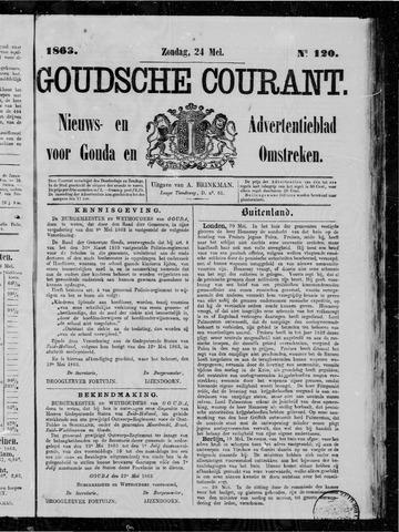Goudsche Courant 1863-05-24