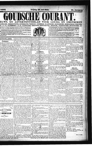 Goudsche Courant 1922-07-28