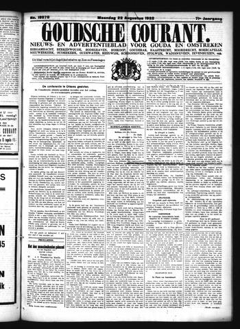 Goudsche Courant 1932-08-22