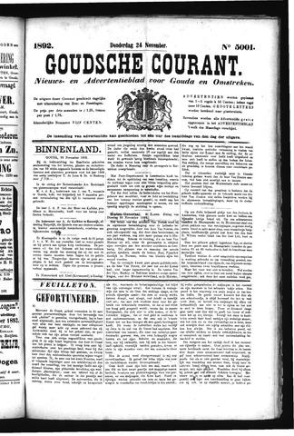 Goudsche Courant 1892-11-24