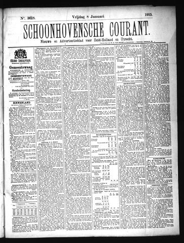 Schoonhovensche Courant 1915-01-08