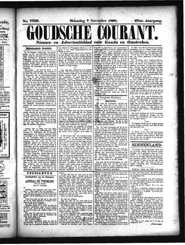 Goudsche Courant 1898-11-07