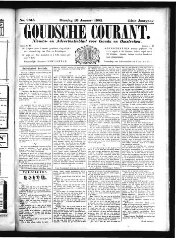 Goudsche Courant 1905-01-10