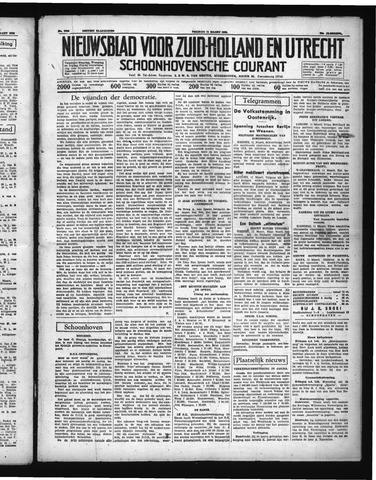 Schoonhovensche Courant 1938-03-11