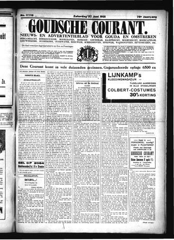 Goudsche Courant 1931-06-27