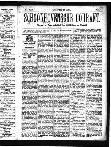 Schoonhovensche Courant 1900-05-19