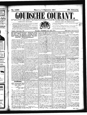 Goudsche Courant 1919-09-08