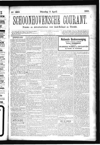 Schoonhovensche Courant 1918-04-02