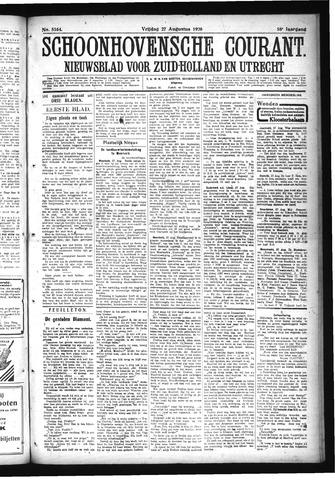 Schoonhovensche Courant 1926-08-27